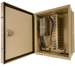 century fiber optic interconnect Outside plant cabinets