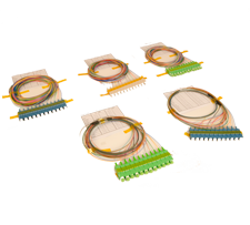 Slpice tray pigtails for century fiber optics enclosures