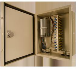 century fiber optic interconnect Outside plant cabinets