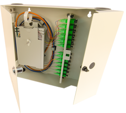 century fiber optic interconnect wall mount cabinet
