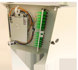 century fiber optic interconnect wall mount cabinet