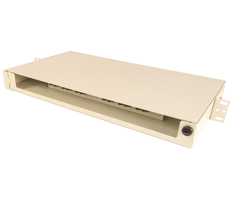 century fiber optic FISR splice and term rack mount enclosure