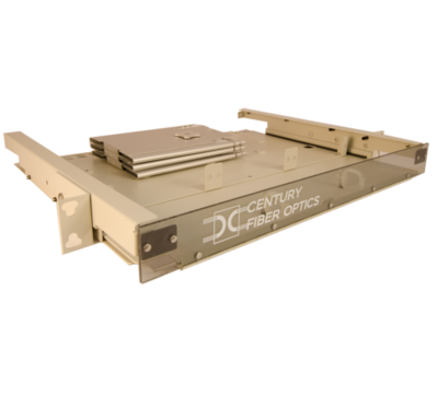 fiber optic 1u rack mount enclosure from century fiber optic FTS-175-S