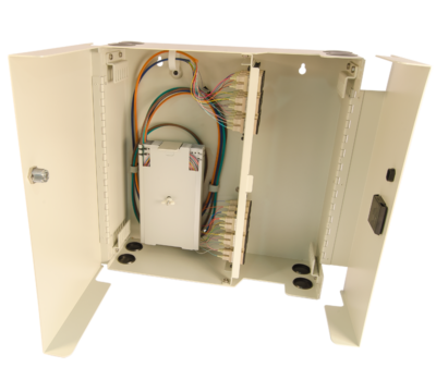 FCL-48 Splice and term wall mount cabinet